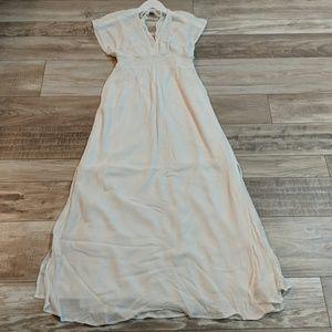 eb50a6e5ecfdd A Pea in the Pod Dresses | Ella Moss Gauze Maternity Maxi Dress ...